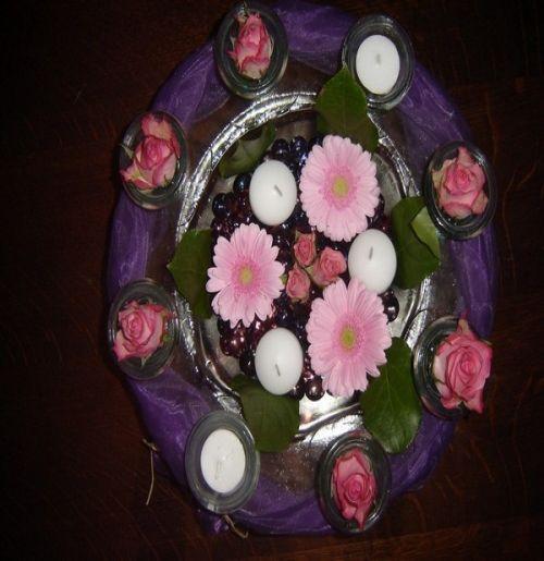 Art floral photos des compositions florales anniversaire conseils en d coration florale - Composition florale anniversaire ...